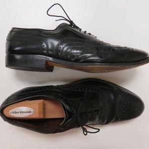 Allen Edmonds McAllister Wingtip Oxford Shoes 10D